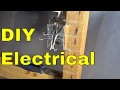 How To Connect 2 Neutral Wires Together-Wiring A Light Switch-DIY