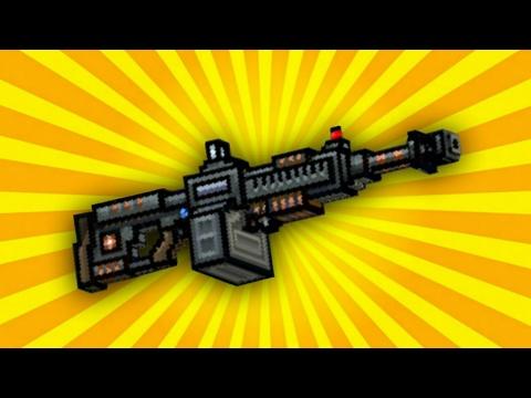 Обзор штурмового пулемёта || Pixel Gun 3d