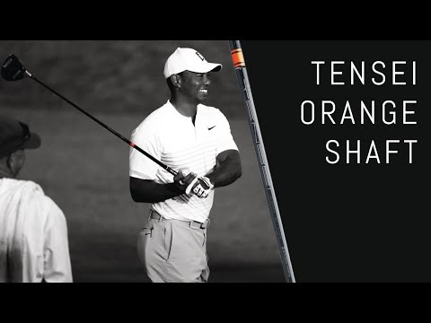 Tiger and Rory's New Driver Shaft   Tensei Orange