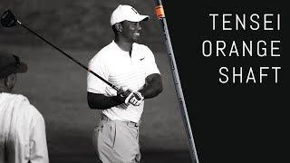 Tiger and Rory's New Driver Shaft | Tensei Orange