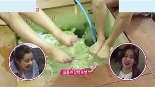 박은혜  각선미 팁토 tiptoe feet