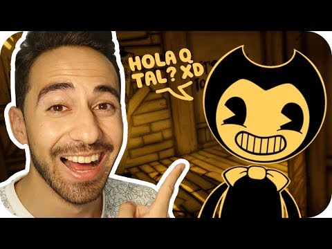 BENDY SE CREE DIVERTIDO | BENDY AND THE INK MACHINE CHAPTER 2