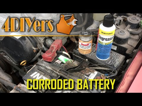 How to Clean and Protect Corroded Car Battery Terminals using DeoxIT