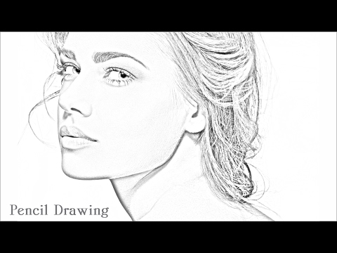 How to Make Pencil Sketch in Photoshop CS5 & CC - Photoshop Tutorial