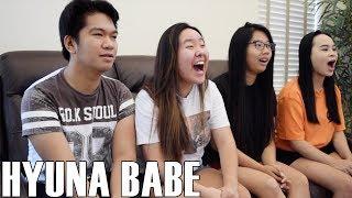 Hyuna (현아)- Babe (Reaction Video)