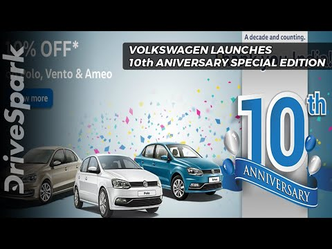 Volkswagen Launches Tenth Anniversary Special Editions - DriveSpark