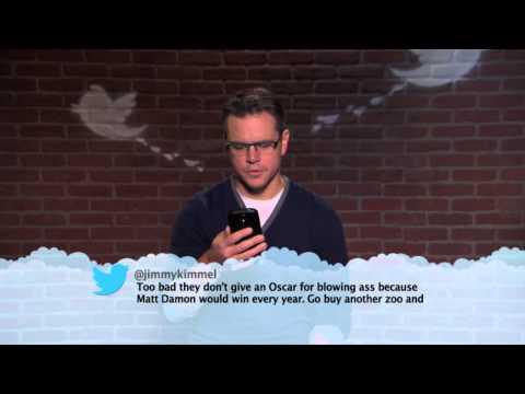 Matt Damon MeanTweets streaming vf