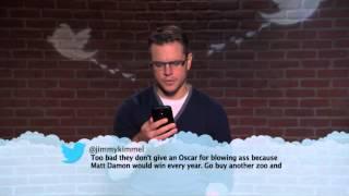 Matt Damon MeanTweets