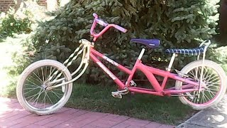 Build Own Custom Lowrider Bike - Bicycle Built for 2 or 3 Kids. African Longtail Cargo Bike