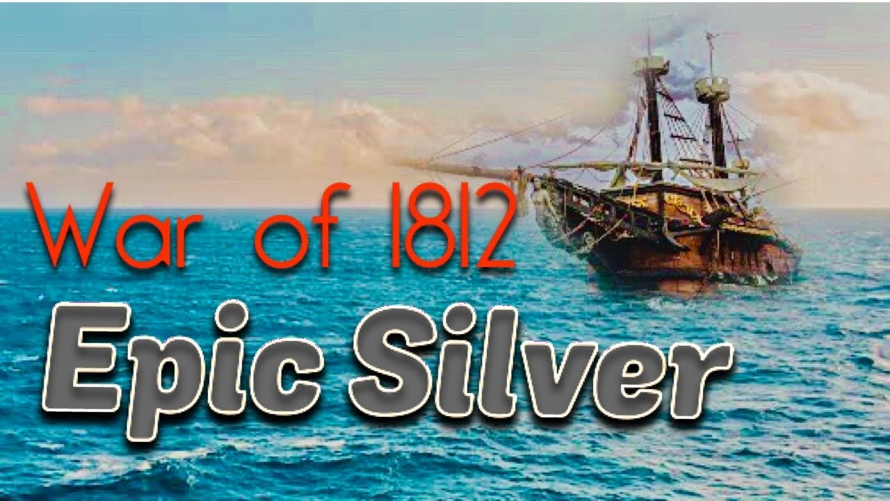 EPIC Silver COIN found Metal Detecting Underwater | War of 1812 History!