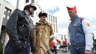 Около 40.000 участников на Московском велопараде 2017