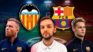 валенсия - Барселона  Испытание выездом для Кике Сетьена  Стрим перед