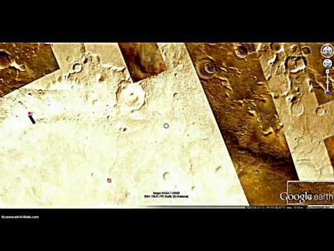 MARS: STRUCTURE WITH ENTRANCE?!  GOOGLE MARS, FOUND FEB 2014!