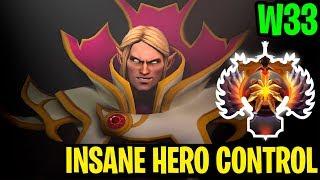 Insane Hero Control!! - W33 Invoker - Dota 2