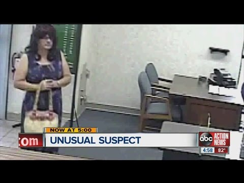Woman robs bank, forces workers into vault