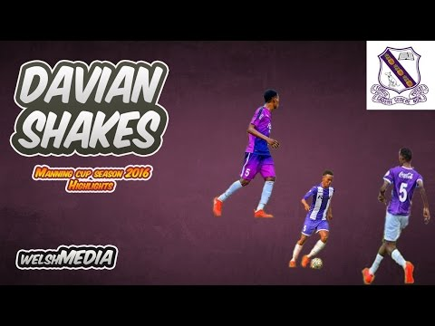 "Davian Shakes ""The Next Sergio Busquets"" Kingston College Highlights 2016"