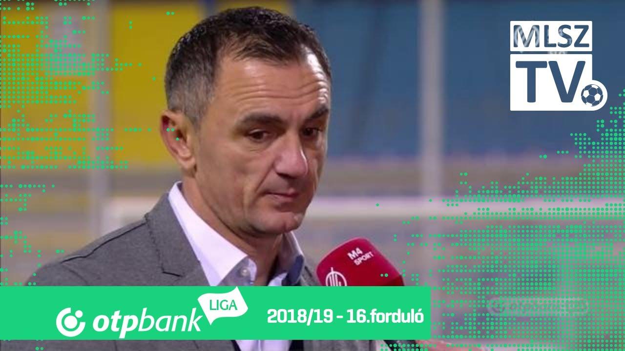 Edzői értékelések a Mezőkövesd Zsóry FC – Újpest FC mérkőzésen