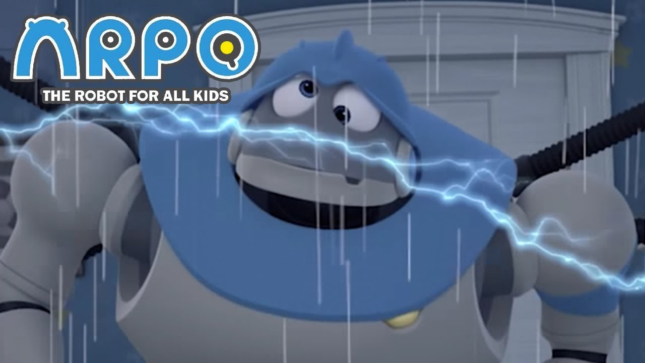 ARPO The Robot For All Kids - Struck By Lightning | Compilation | Cartoon for Kids
