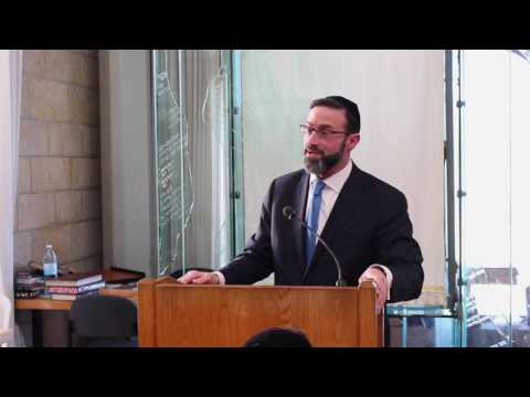 Rabbi Eytan Feiner at Yeshiva Aish HaTorah
