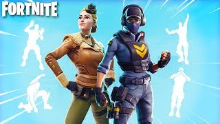 NEUE SKINS & EMOTES in Fortnite Battle Royale! (Leaked Fortnite Skins!)