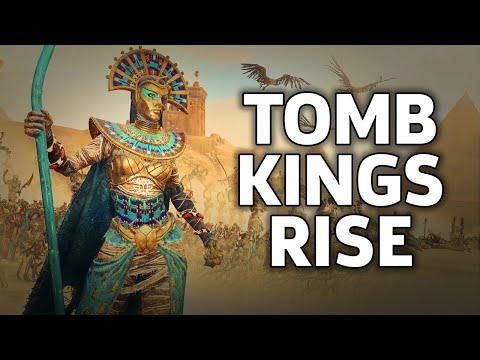 Total War: Warhammer 2 - Tomb Kings Gameplay