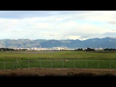 AirCanada B767 Takeoff Rwy13R Bogotá - El Dorado Intl - SKBO - Full HD
