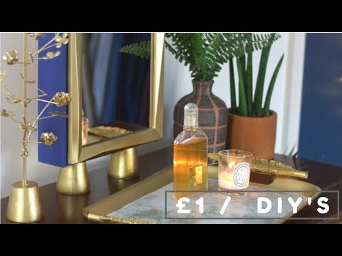 POUNDLAND DIY DECOR HACKS | POUND SHOP DOLLAR STORE DIY