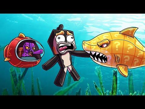 Minecraft | SHARK INFESTED WATERS - Lucky Block Boss Challenge! (Shark Attack)