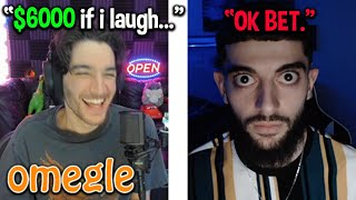 Omegle... but if I laugh they win $6000