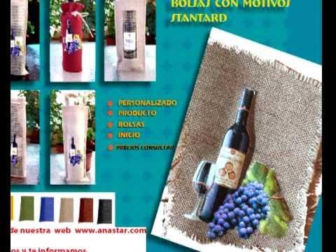 FABRICANTES DE TRANSFER ANASTAR sobre YUTES, Rejillas,Rafias, etiqueta para regalo personalizado.avi