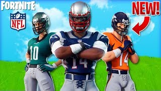 "NEW ""FOOTBALL"" SKINS Leaked in FORTNITE! - *33* NFL SKINS & NEW EMOTE! (Fortnite Battle Royale)"