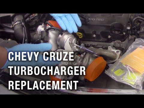 Chevy Cruze Turbocharger Replacement