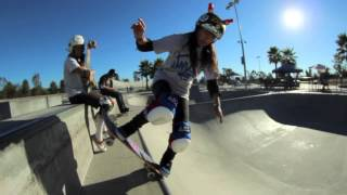 Evelyn Abad-Skater Girl A Day at the Park October 2012 HD