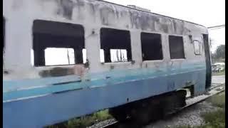 タイ国鉄キハ58系の配給列車 ขบวนพิเศษชำรุด JR ขบวนที่ 2902 ชท.แก่งคอย - บ้านพลูตาหลวง วันที่ 16 สิงหาคม 2560