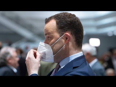 """Download Gesundheitsminister Spahn: """"Zustand der besonderen Vorsicht"""""""