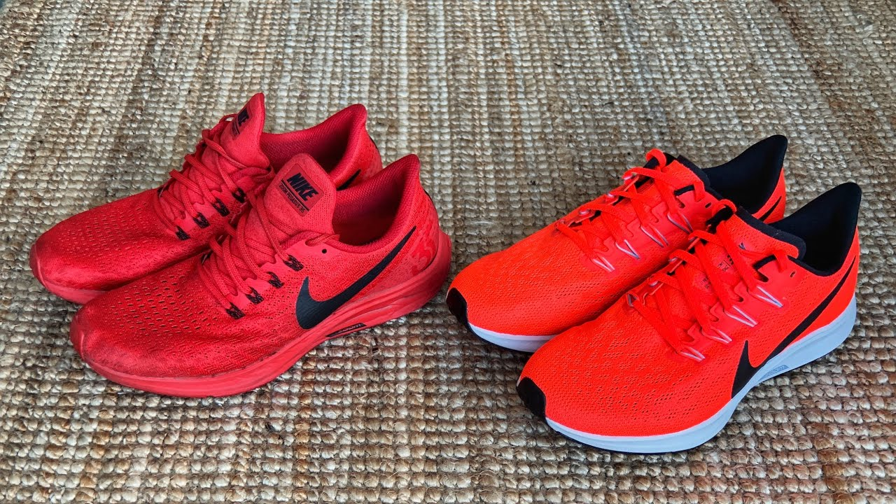 NIKE PEGASUS 36. ALL NEW OR MORE OF THE