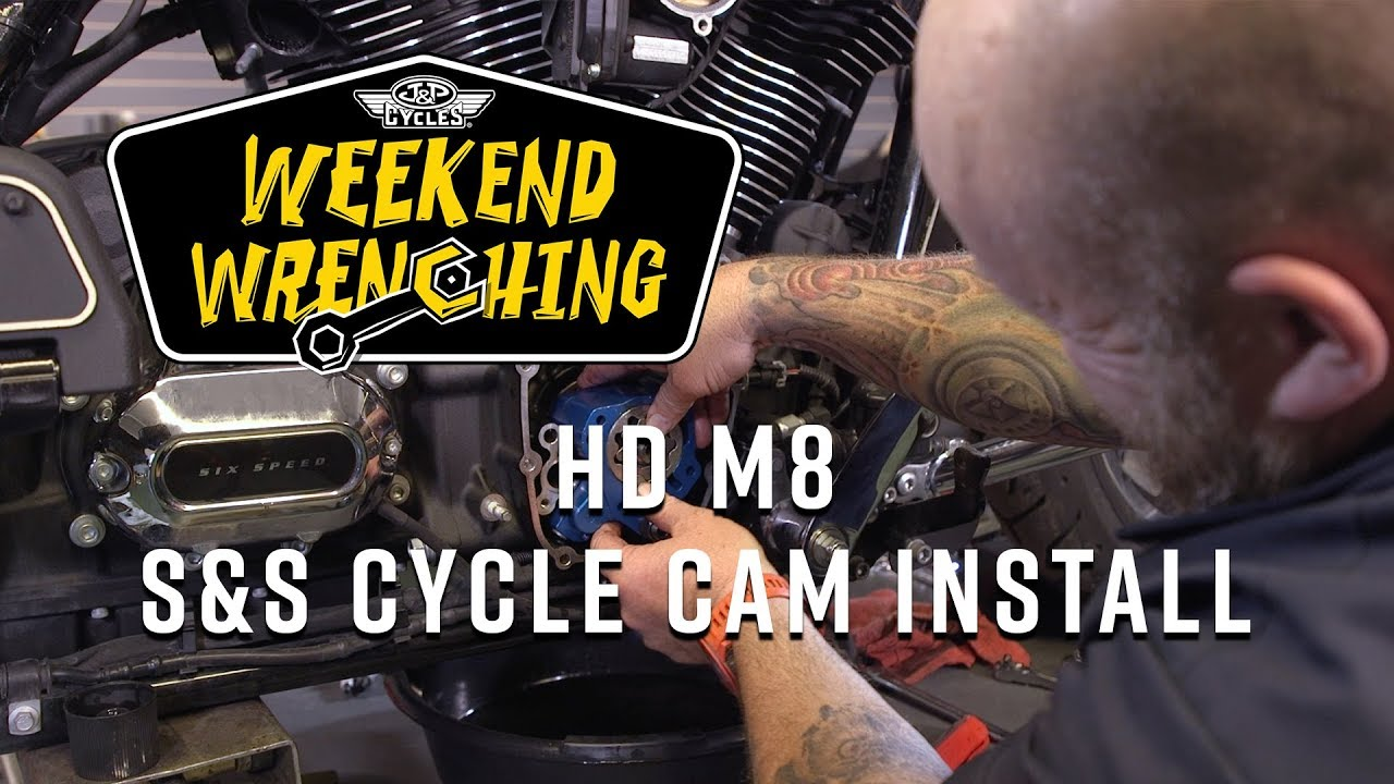 Cam Replacement on a Milwaukee 8 Harley Davidson Touring Bike : Weekend  Wrenching