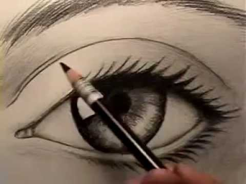 Resim Dersi Gerçek Göz Nasıl çizilir Youtube