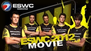 3-time World Champions - Na`Vi.Dota 2 ESWC 2012 Movie