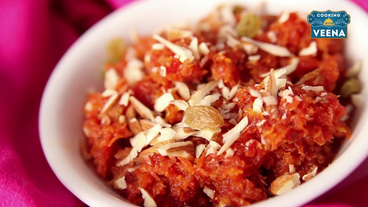 Gajar Ka Halwa ग जर क हलव How To Make Sweet Carrot