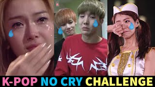 K-POP NO CRY CHALLENGE - 10 of the Saddest Moments in K-Pop History