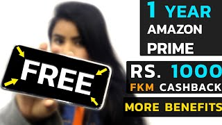 Free 1 year Prime Membership || Rs. 1000 Cashback - Vodafone Postpaid  Plan Details & Benefits ||