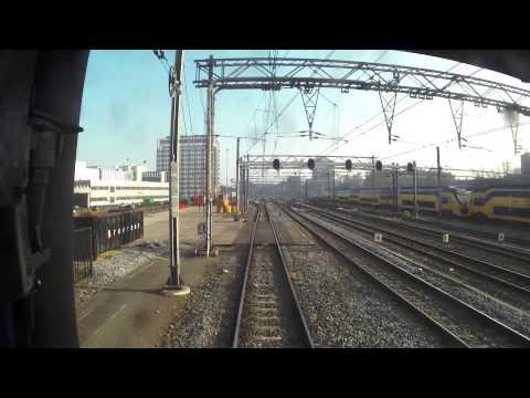 Intercity Direct van Amsterdam CS tot Amsterdam Sl