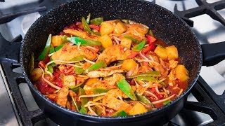 DELICIOUS Sweet and Sour Chicken Recipe - Fast, Tasty Meals at Home