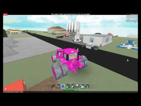 my pretty pink tractor on roblox