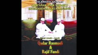 Qadar Rasmadi, Rajif Fandi Al Baqarah (284-286)