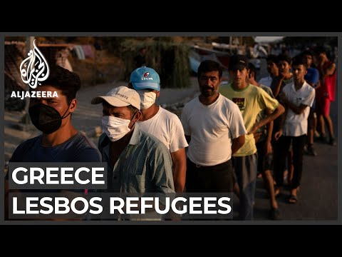 Lesbos refugees: Thousands concerned about new camp after fire