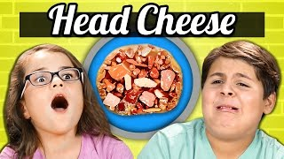 KIDS vs. FOOD - JELLIED MEAT (HEAD CHEESE)
