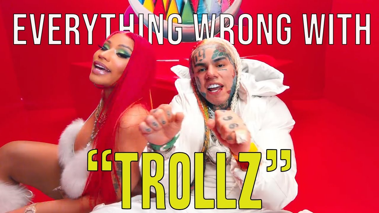 "Everything Wrong With 6ix9ine  & Nicki Minaj - ""TROLLZ"""
