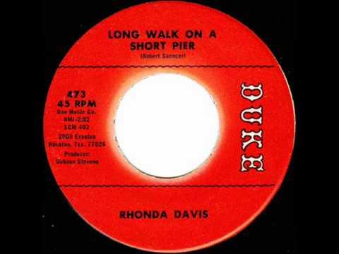 Rhonda Davis  Long Walk On A Short Pier